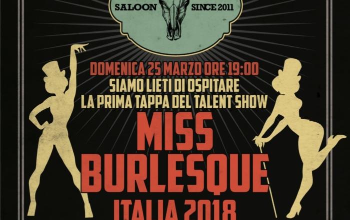 2018_03_25 - Miss Burlesque Italia @ Nasty Boys