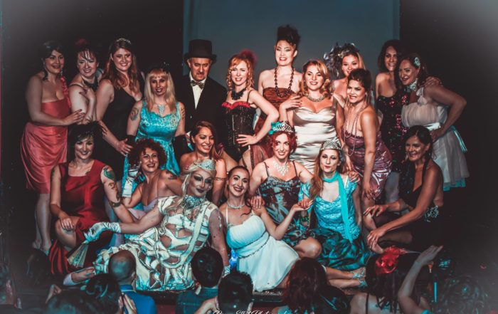 Chez Nous Burlesque Contest - Roma - Curtain Call - Rights Reserved: Ramy Photoart