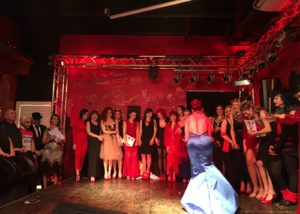 2nd Funny Burlesque Contest - February 2018 - Rock Town - curtain call