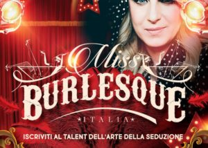 Miss Burlesque Italia - Zelig TV - March 2018 @ NASTY BOYS - Adv image