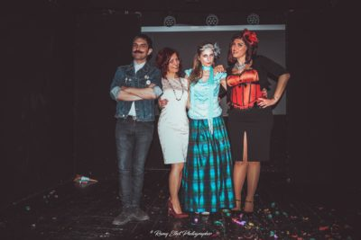 Chez Nous Burlesque Contest - April 2018 @ Teatro Petrolini, Rome - The True Story of Mary Poppins - WINNER BEST COMEDY with the JURY - Rights Reserved: Ramy Elkot