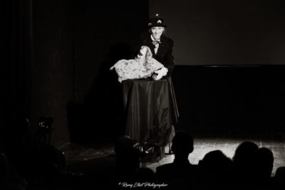 Chez Nous Burlesque Contest - April 2018 @ Teatro Petrolini, Rome - The True Story of Mary Poppins - Rights Reserved: Ramy Elkot