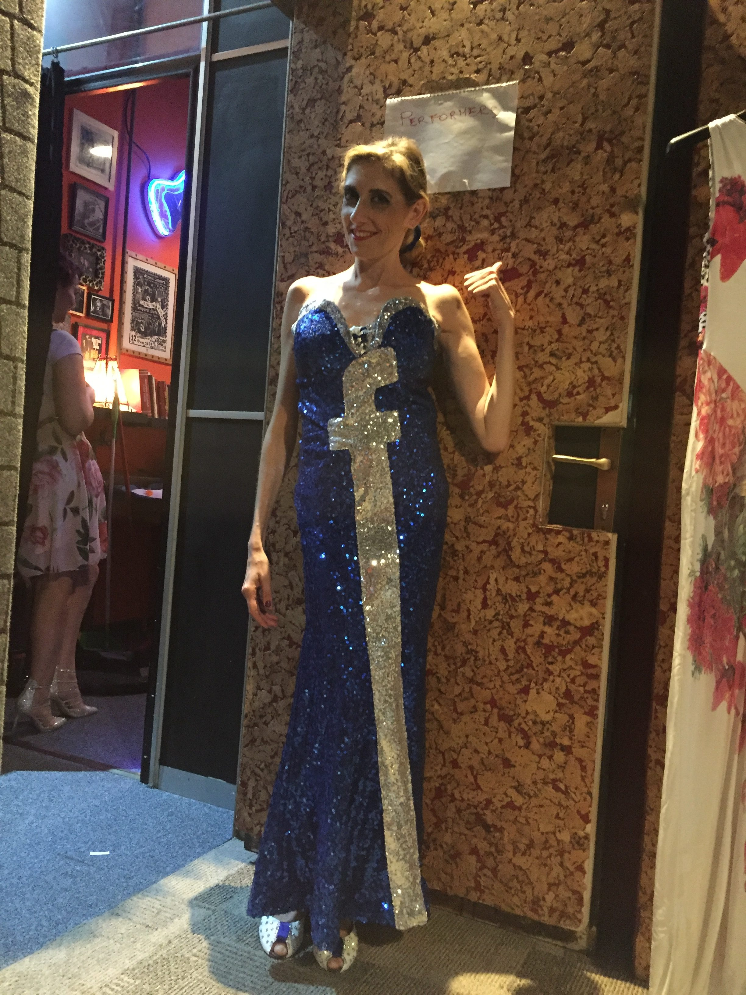 2018_09_13 - 5th Como Lake Burlesque Festival - Princess Night - Ready to rock the stage @ Joshua Blues Club