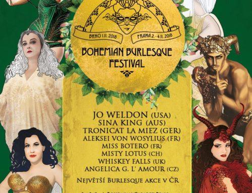 NEXT STOP @ BOHEMIAN BURLESQUE FESTIVAL in PRAGUE