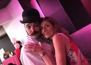 """2018_09_29 - Cabaret & Burlesque Torino Festival """"Amazing Flamingo"""" - La Madama"""