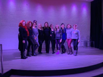2019_02_02 - 3rd Funny Burlesque Contest - Workshop con GAIA CATULLO