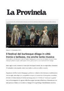 Articolo Como Lake Burlesque Festival 2019_