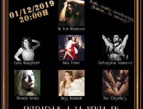 "Blondy Violet debuts in Barcelona, Spain – 1st December @ ""LA CUCHARA DE BELLA"""