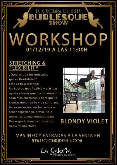 "2019_12_01 - Workshop Stretching Flexibility - ""LA CUCHARA DE BELLA"""