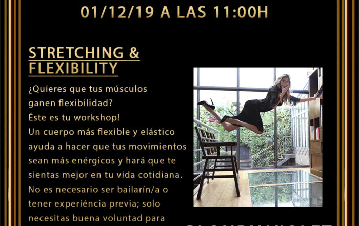2019_12_01 - Workshop Stretching Flexibility -