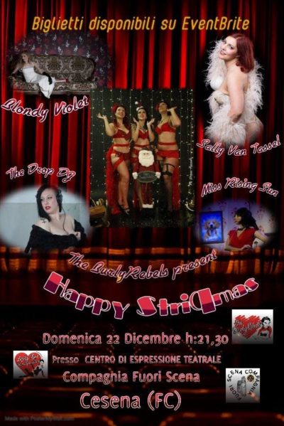 "2019_12_22 - OSPITE nello Show ""StriPMas"" by Scarlet Lovelace"