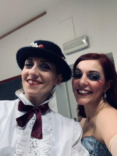 2019_12_22 - StriPMas @ Compagnia Fuoriscena - Cesena - Backstage with Sally Van Tassel